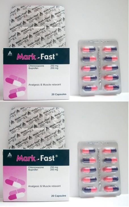 الآثار الجانبية لدواء مارك فاست كبسولات