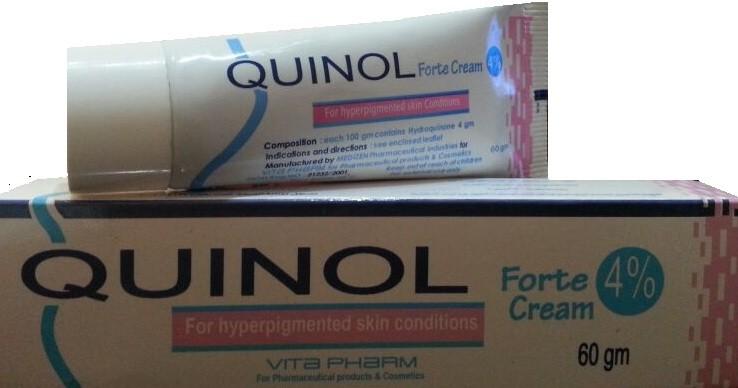 كينول كريم Quinol Cream لتنظيف البشرة وتبييضها