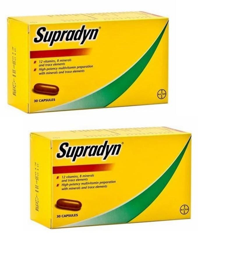 دواء سوبرادين Supradyn لحل مشاكل الشعر عند الرجال والسيدات
