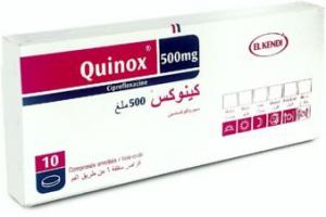 دواء كينوكس Quinox لعلاج التهابات الجهاز التنفسي