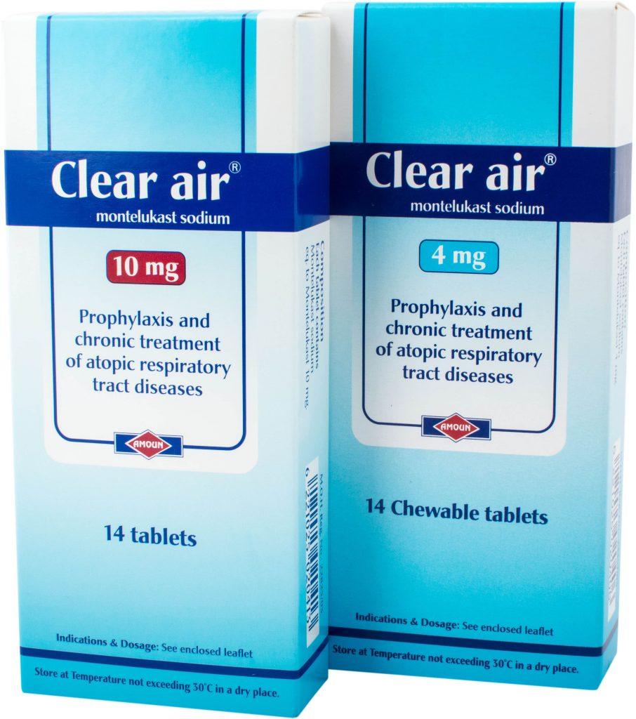 Photo of كلير اير Clear Air لعلاج الحساسية فوائده والأثار الجانبية