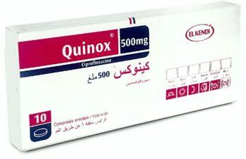 دواعي استخدام Quinox Tablets