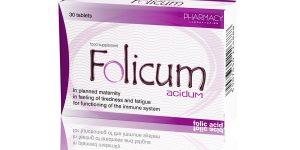 فوليكوم أقراص Folicum لعلاج فقر الدم وتشوهات الأجنة