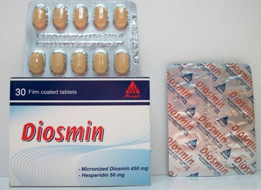 Photo of ديوسمين أقراص Diosmin Tabletsلعلاج البواسير ودوالي الساقين