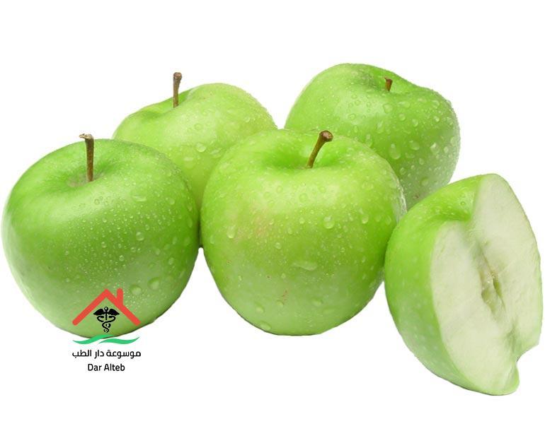 اضرار التفاح الاخضر