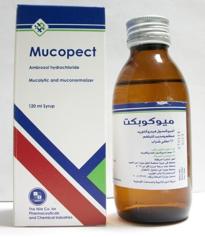 ميوكوبكت Mucopect شراب لعلاج السعال والبرد