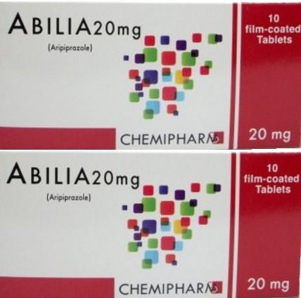 أبيليا أقراص ABILIA يعالج الإضطراب النفسي والجرعة المسموح بها