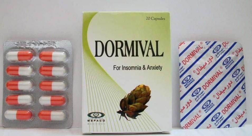 دورميفال كبسولات Dormival Capsules لعلاج مشاكل الأرق والنوم