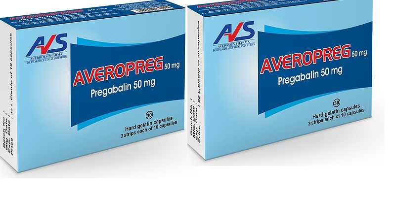 أفيروبريج كبسولات Averopreg Capsules لعلاج التهاب الأعصاب