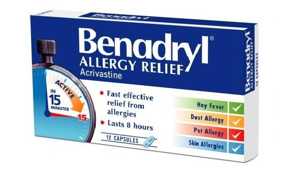 الآثار الجانبية لتناول دواء بينادريل