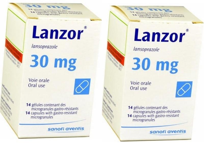 كبسولات لانزور Lanzor لعلاج إرتجاع المرئ وقرحة المعدة
