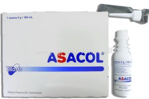أساكول أقراص Asacol للالتهابات الحادة للقولون التقرحي