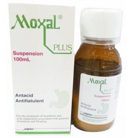 موكسال بلس Moxal-Plus لعلاج الانتفاخ وعسر الهضم