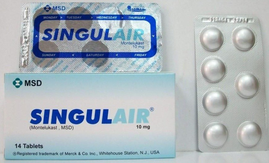 Photo of سنجيولير أقراص Singulair لعلاج الربو المزمن