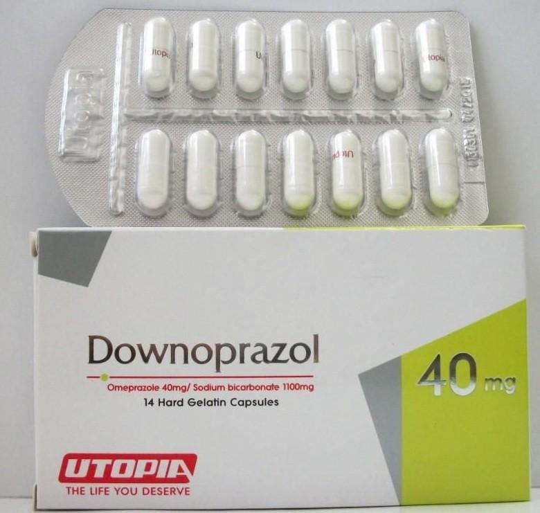 داونوبرازول Downoprazol Capsules لتخلص من مشاكل المعدة نهائياً