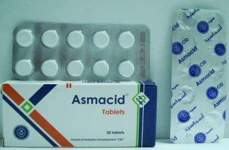 Photo of أسماسيد Asmacid أقراص لعلاج الربو الأثار الجانبة