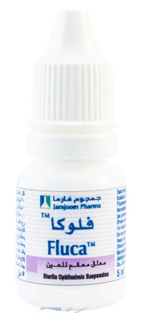 الآثار الجانبية لدواء فلوكا قطرة Fluca Eye Drops