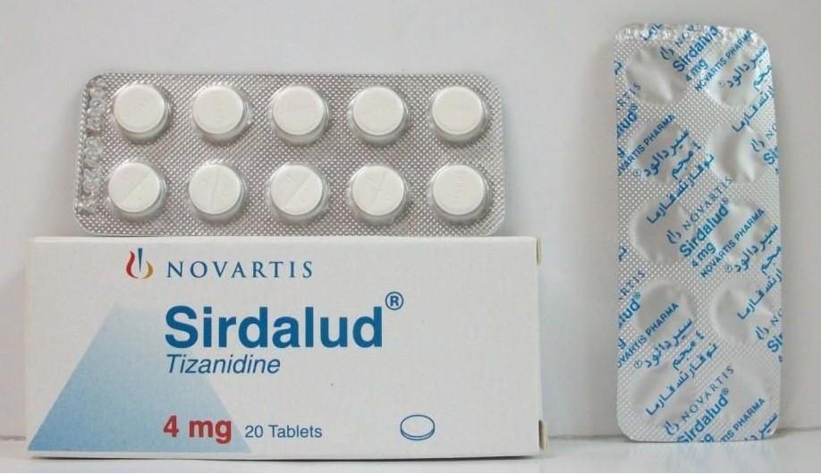 Photo of سيردالود أقراص Sirdalud باسط للعضلات ومسكن للألام