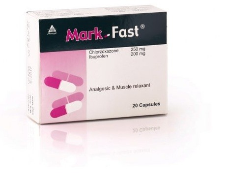 Photo of دواء مارك فاست كبسول Mark Fast يعمل على ارتخاء الأعصاب وعلاج التواء الرقبة