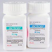 أكتوس اقراص Actos لعلاج مرض السكر