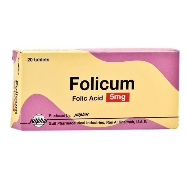 الجرعة وكيفية الإستخدام لدواءFolicum