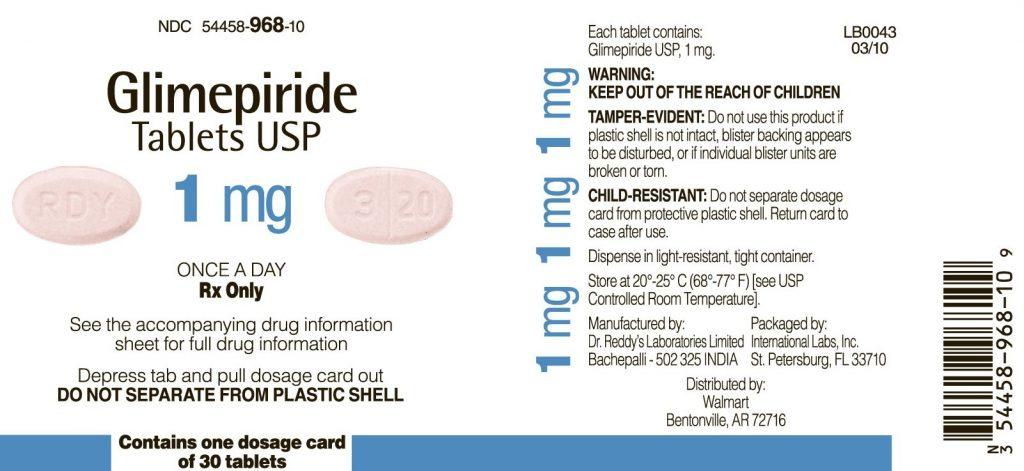 الإحتياطات والموانع لإستعمال لدواء جليميبرايد أقراص