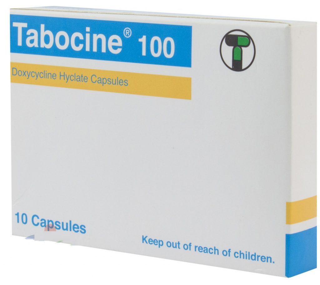 الآثار الجانبية لدواء تابوسين كبسول Tabocine Capsules