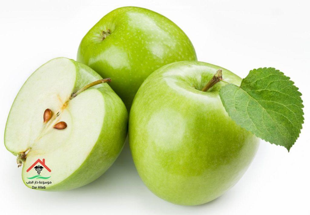 فوائد التفاح الاخضر للجنس