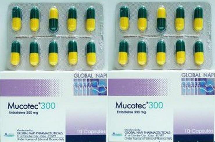 الآثار الجانبية الخاصة بدواء Mucotec Capsules