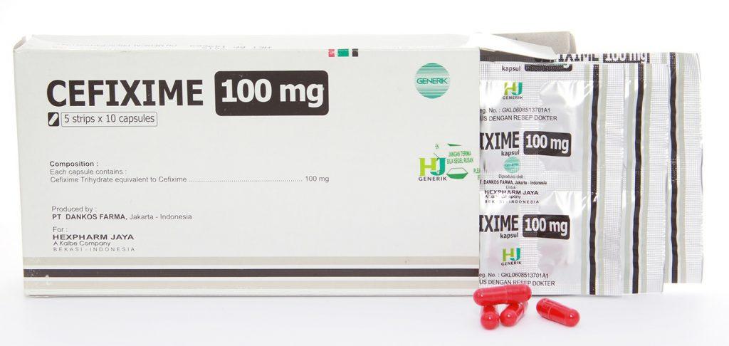 الأعراض الجانبية لتناول cefixime دواء