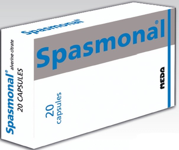 سبازمونال Spasmonal كبسولات لعلاج القولون العصبي والجرعة المسوح بها