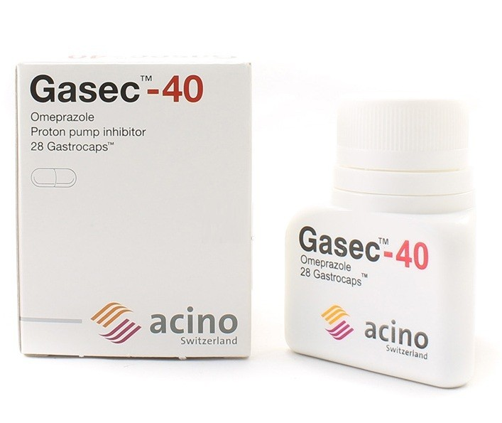 جازيك كبسولات Gasec Capsules لعلاج قرحة المعدة والحموضة