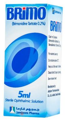 دواعي استخدام دواء بريمو قطرة Brimo Drops