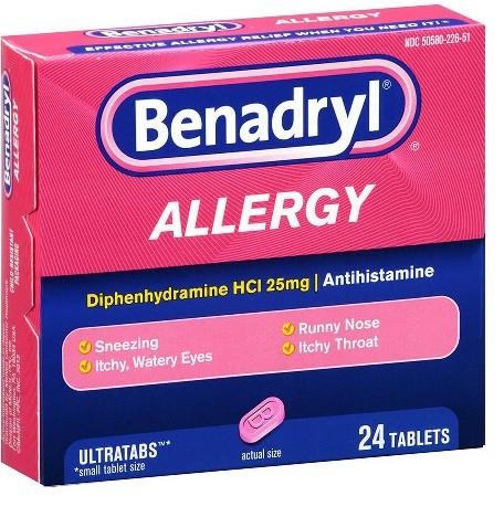 احتياطات تناول دواء بينادريل