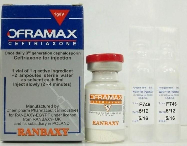 الجرعة وطريقة الاستخدام لدواء اوفراماكس حقن Oframax Injection