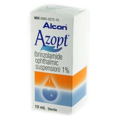 دواعي الاستعمال لدواء أزوبت قطرةAzopt Eye Drops