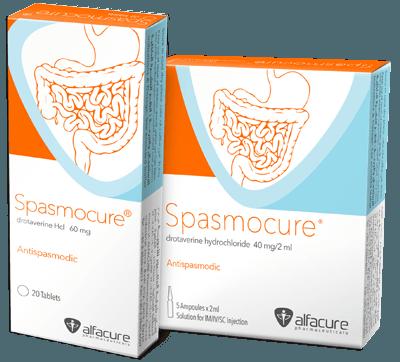 دواعي أستخدام دواء سبازموكيور