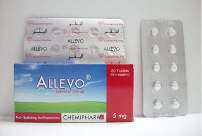 Photo of أليفو أقراص Allevo Tablets مضاد للحساسية والالتهابات
