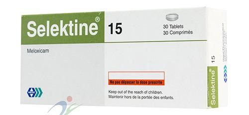 Photo of سيليكتين أقراص Selektine Tablets لتسكين الألم