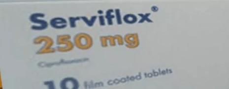 سرفيفلوكس أقراص Serviflox Tablet