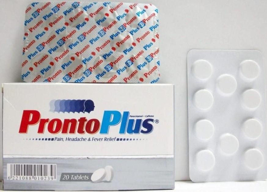 برونتو بلس Pronto Plus أقراص للتخلص من نزلات البرد والتهابات الجيوب الأنفية