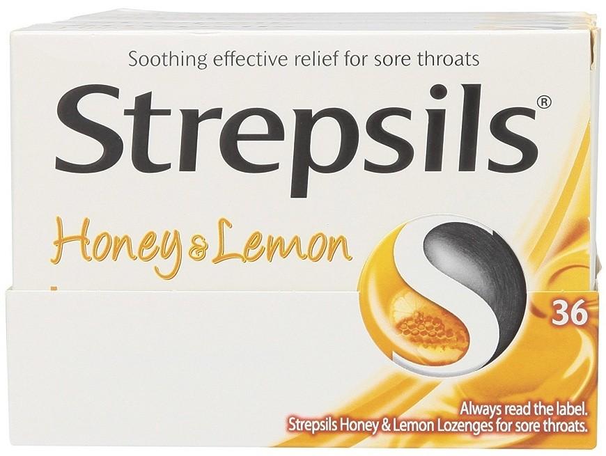 أقراص ستربسلز Strepsils Tablets لعلاج التهابات الحلق