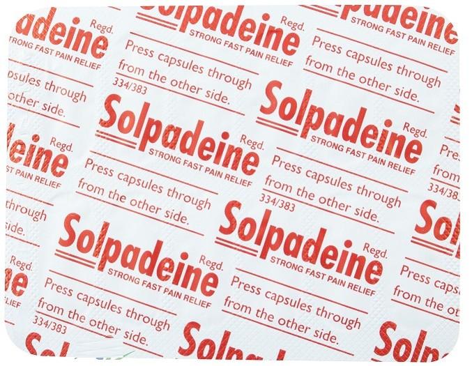موانع الاستعمال لدواء سولبادين أقراص Solpadine