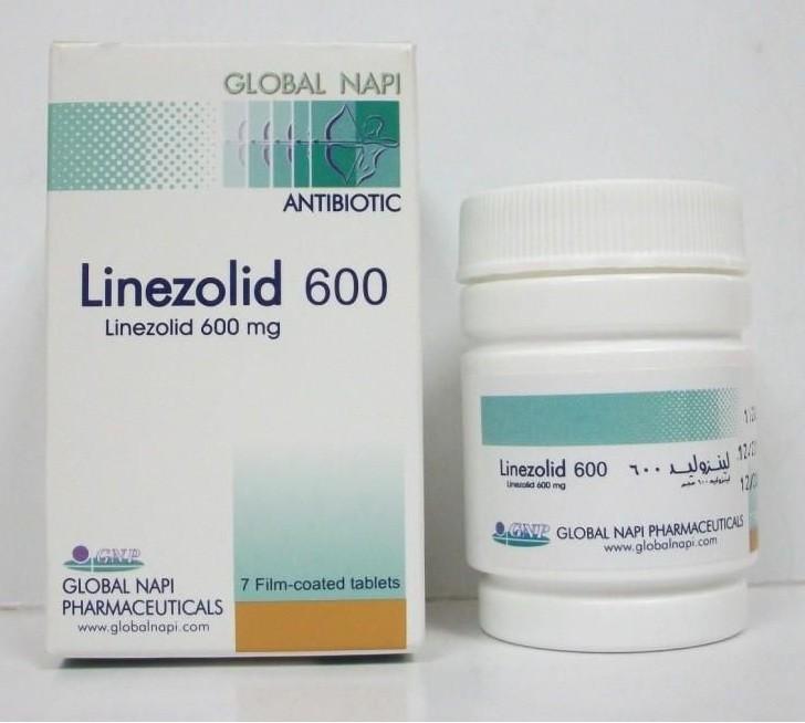 لينزوليد أقراص Linezolid Tablets مضاد حيوي واسع المجال
