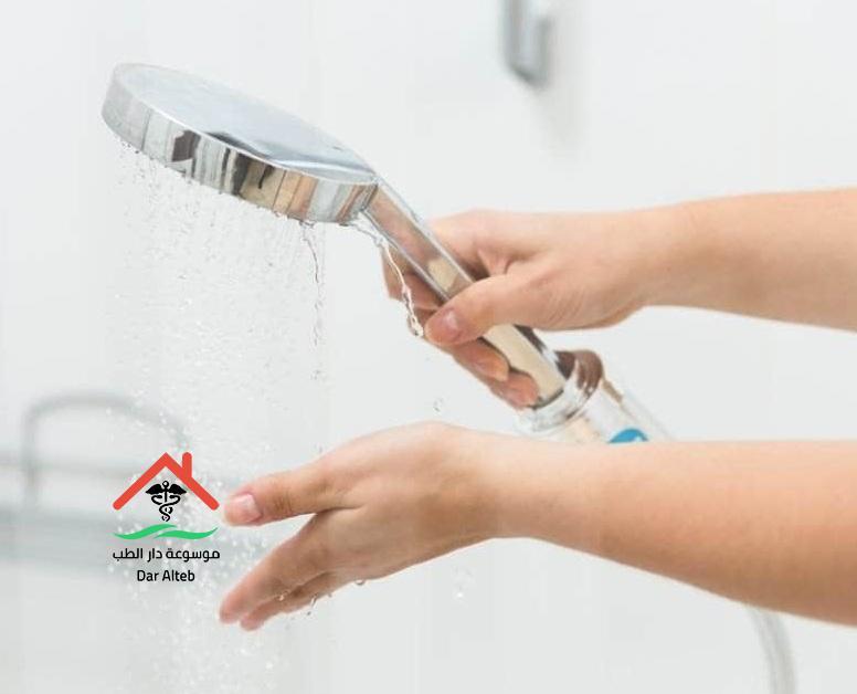 اضرار الاستحمام بالماء البارد