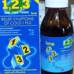 وان تو ثرى أقراص وشراب 123 One Two Three Tablets لعلاج نزلات البرد
