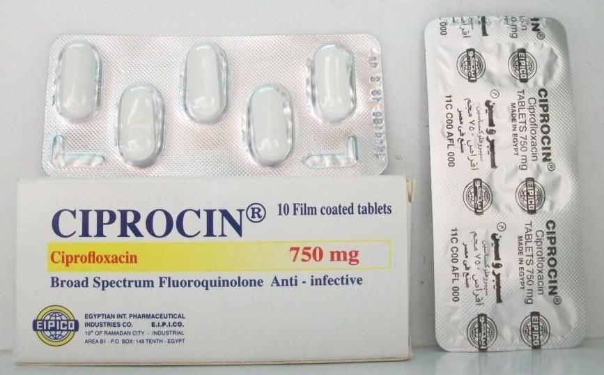 دواء سيبروسين Ciprocin اقراص وحقن ونقط مضاد حيوي واسع المدي