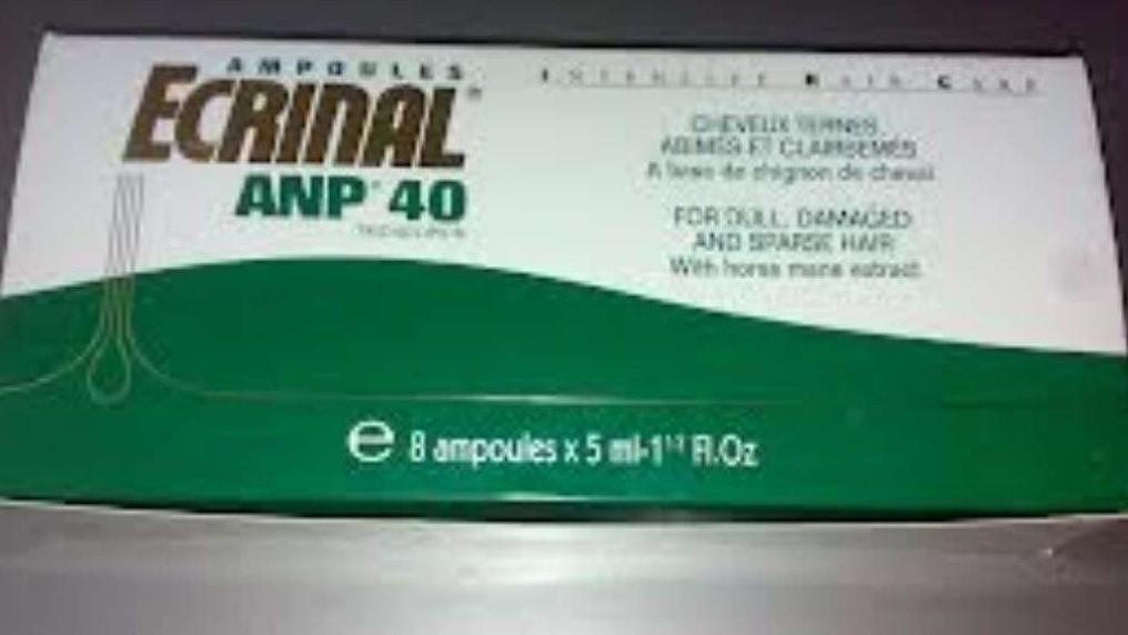 الآثار الجانبية لدواء Ecrinal أمبولات