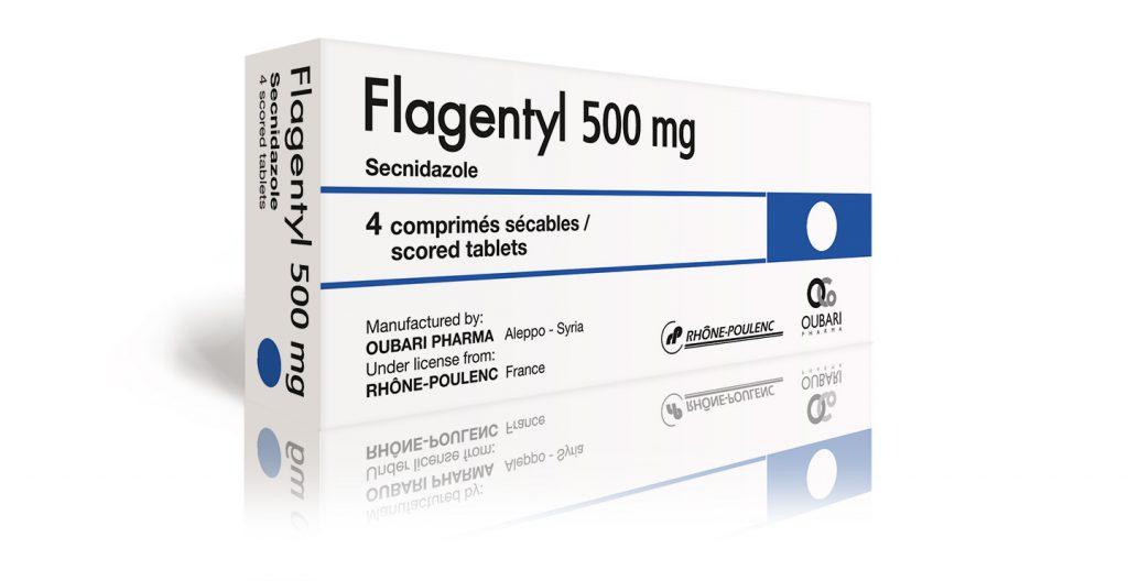 دواعي إستعمال دواء Flagentyl Tablets