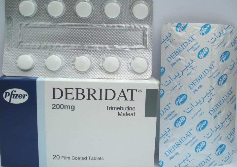 ديبريدات أقراص Debridat Tablets لعلاج مشاكل الهضم والقولون العصبي
